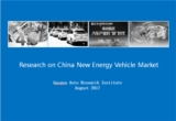 Research on China New Energy Vehicle Market