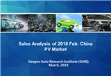 【February, 2018】China Passenger Vehicle Sales Analysis