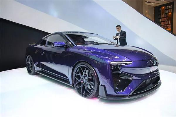 Auto China 2018 new models, AIWAYS RG  Roland Gurnpert Audi Quattro