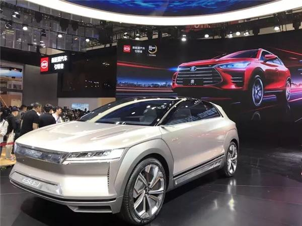 China market news, Auto China 2018, BYD DiLink  system, BYD E-SEED