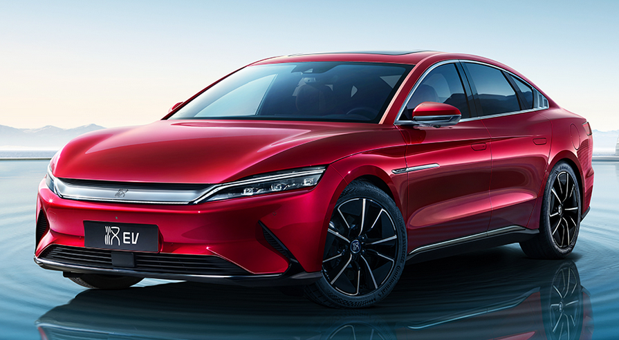BYD auto sales Aug. 2021, BYD NEV sales, BYD Dolphin, China automotive news